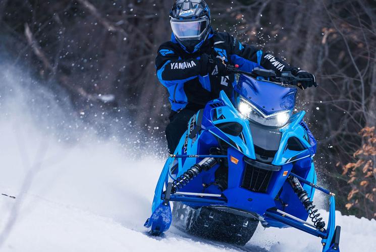 Attaquez les pistes avec la nouvelle motoneige Sidewinder L-TX LE 2020 de Yamaha